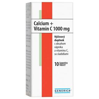 Calcium + vitamin c 1000 mg