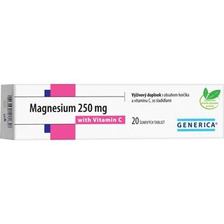 Magnesium 250 mg + vitamin c