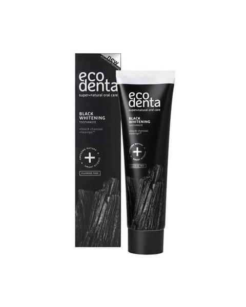 ECODENTA Extra Black bieliaca zubná pasta s čiernym uhlím a Teavigo