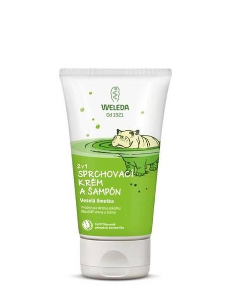 WELEDA 2v1 Sprchový krém a šampón