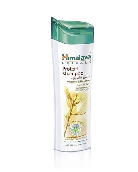 Proteínový šampón pre väčší objem