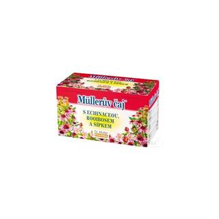 Müllerov čaj S ECHINACEOU, ROOIBOSOM A ŠÍPKAMI