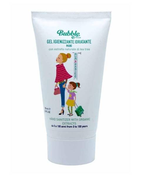 Bubble&co Čistiaci gél na ruky s organickými extraktmi