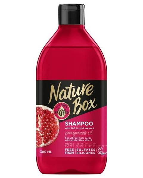 Nature Box šampón Granátové jablko