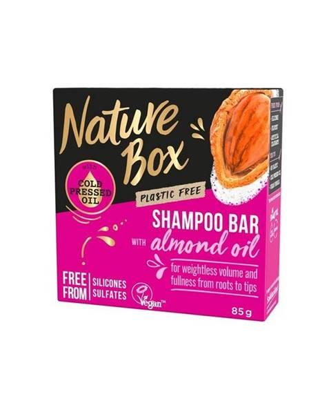 Nature Box tuhý šampón almond