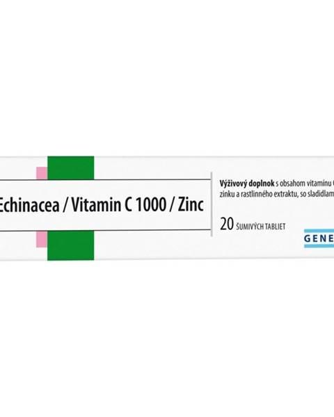 GENERICA Echinacea/Vitamin C 1000/Zinc