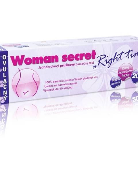 Woman secret RIGHT TIME ovulačný test