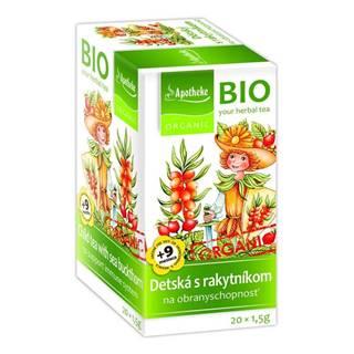 Apotheke bio selection detský čaj s rakytníkom