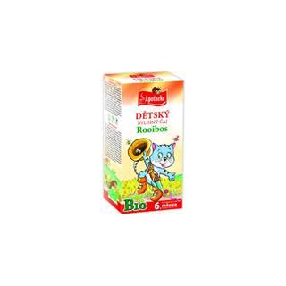 Apotheke bio detský bylinný čaj rooibos