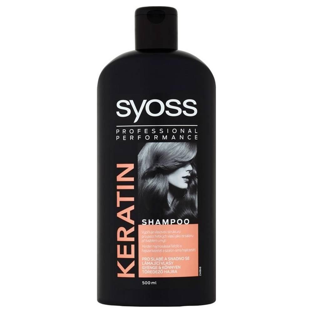 Syoss šampón Keratin