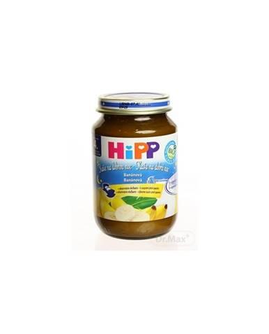 HiPP BIO Kaša na dobrú noc krupicová s banánom od uk. 4. mesiaca