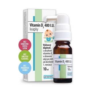 Vitamin d3 400 i.u. kvapky