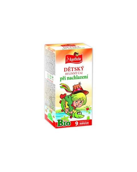 Apotheke bio detský bylinný čaj dýchacie cesty