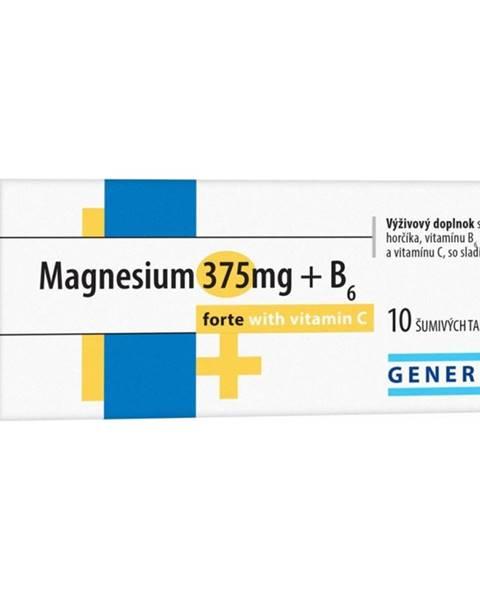 GENERICA Magnesium 375 mg + B6 forte s vitamínom C